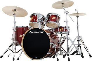 Buy the Ludwig Accent CS Custom Elite Drum Set